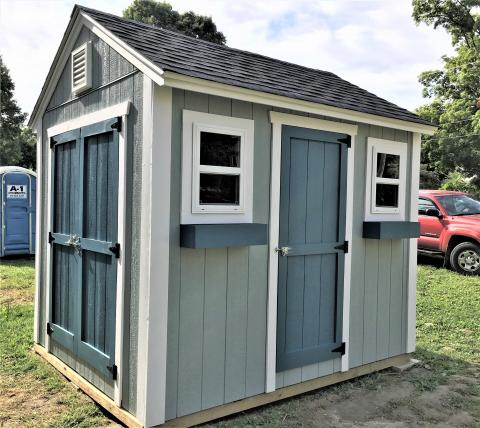 Try winning a Shed - and help us build the next home!